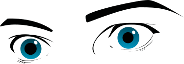 Free Eye Expression Clipart, 1 page of Public Domain Clip Art.