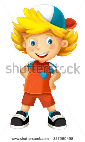 Illustration Scared Young Girl Ghost Her Stock Vector 141633067.