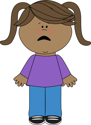 Scared Kid Clipart.