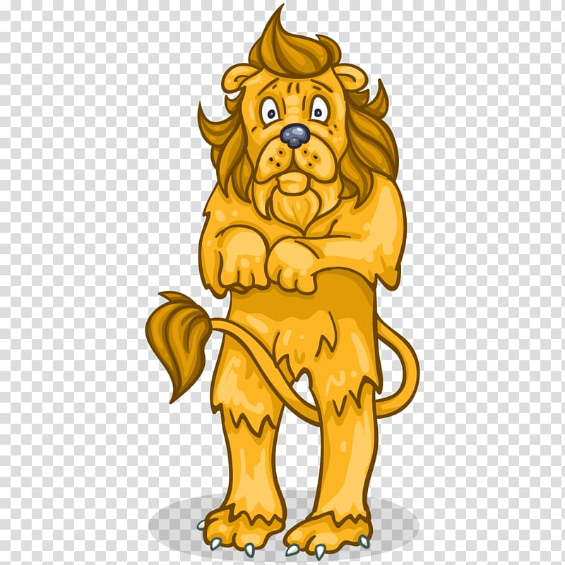 Cowardly Lion The Wizard Industriales , Scared Lion.