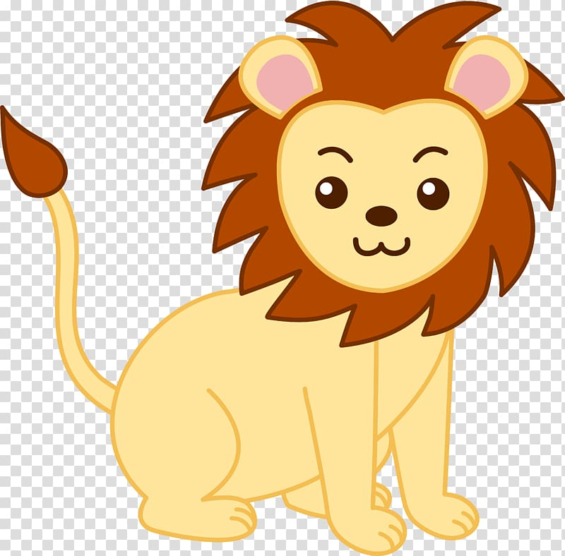 Lion Animal , Scared Lion transparent background PNG clipart.