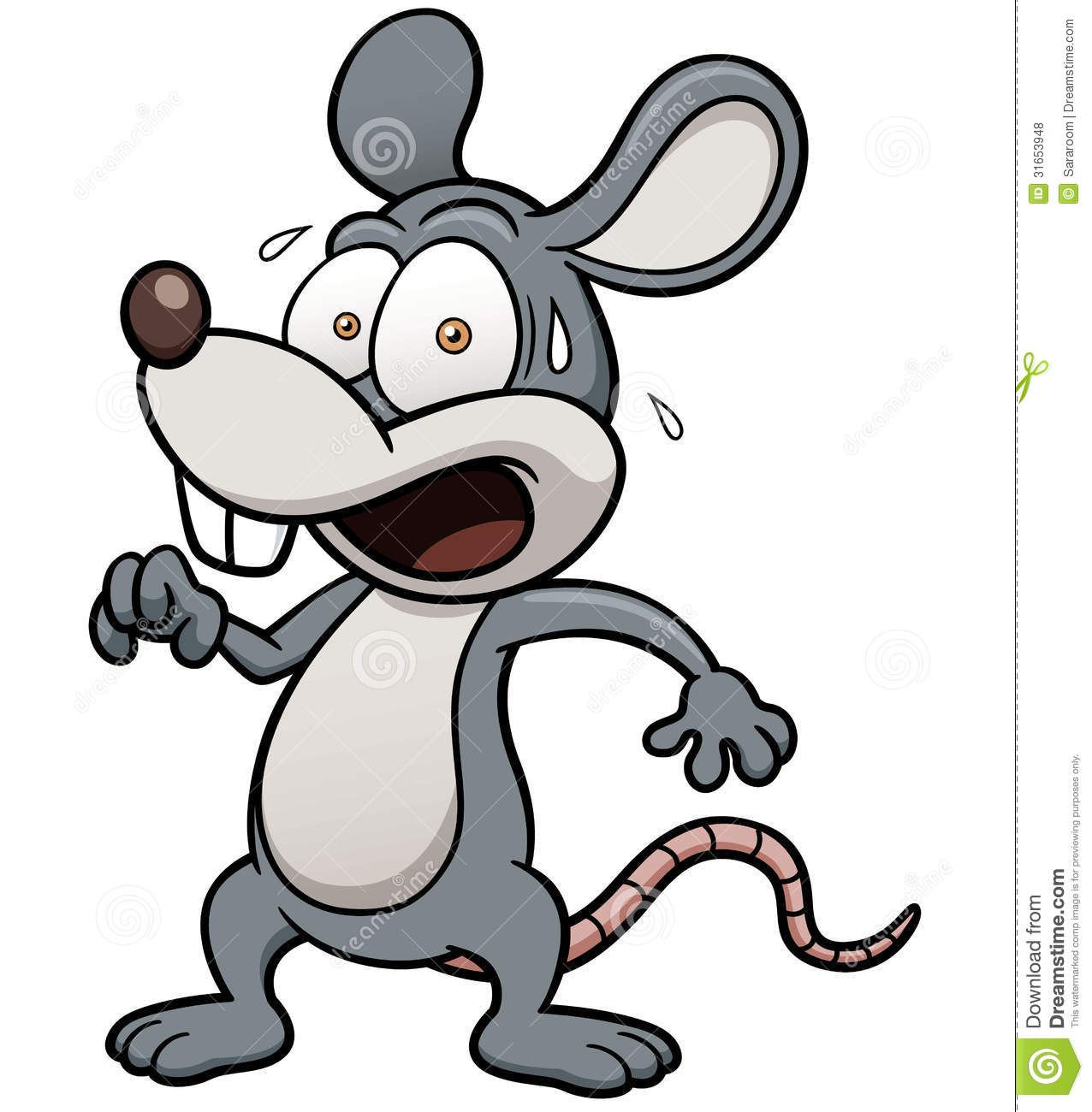 Mouse clipart scared for free download and use images in.