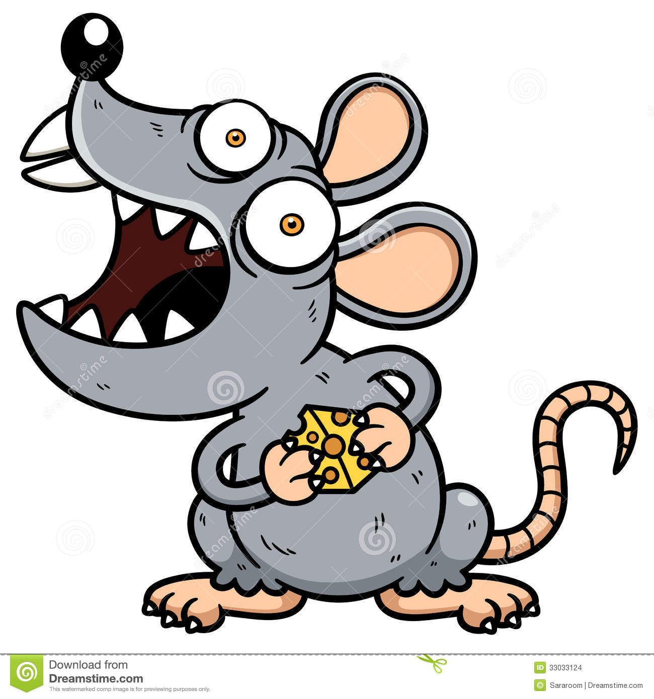 Rat clipart scary.