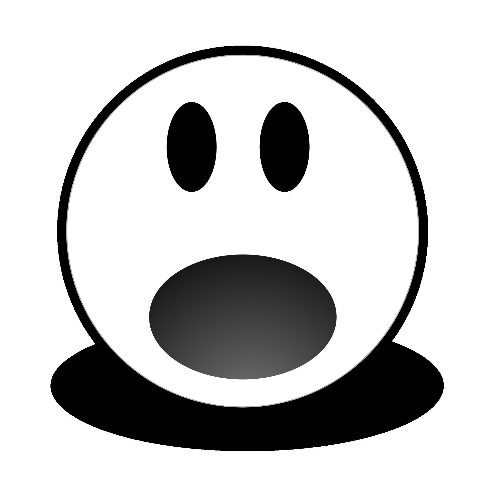 Smiley Face Surprise Clip art.