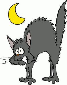Scaredy Cat Clipart.