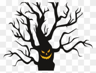 Free PNG Scary Tree Clip Art Download.