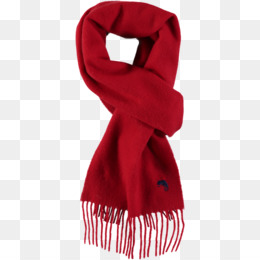 Red Scarf PNG.