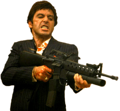 Scarface PNG.