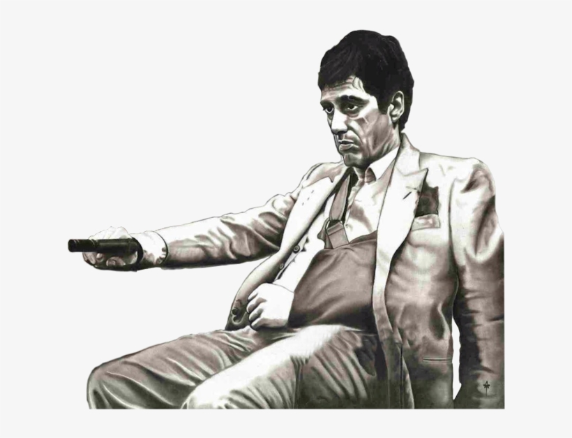 Scarface PNG Image.