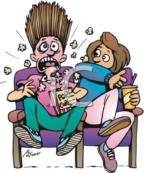 Scary Movie Clipart.