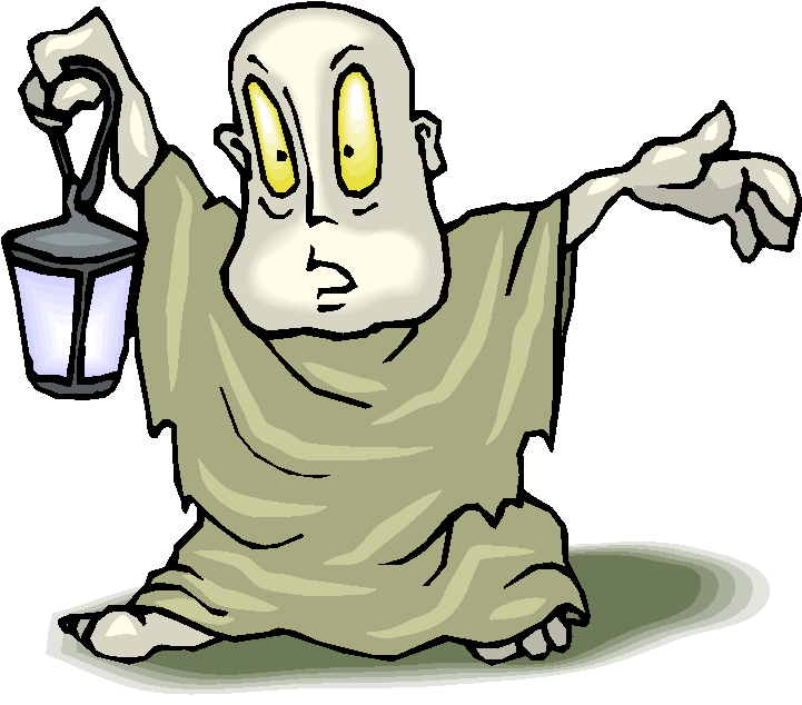 Scary clipart.