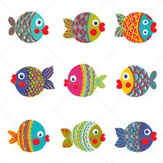 Very colorful fish..