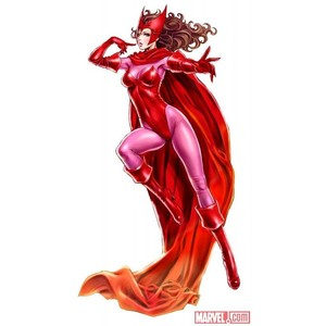Scarlet witch clipart.
