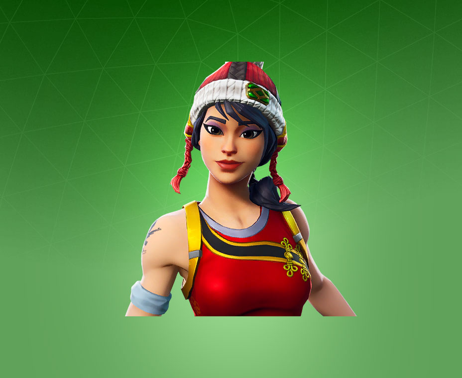 Fortnite Scarlet Defender Skin.