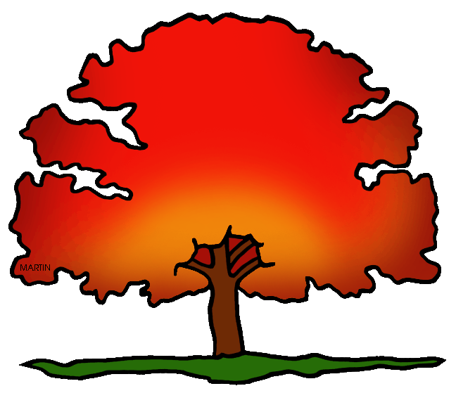 Free United States Clip Art by Phillip Martin, District Tree of.