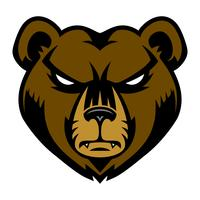 Grizzly Bear Free Vector Art.