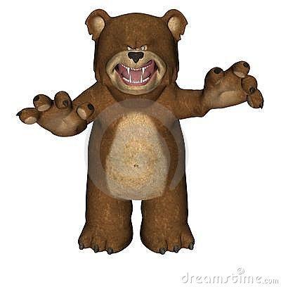 Scary bear clipart » Clipart Portal.