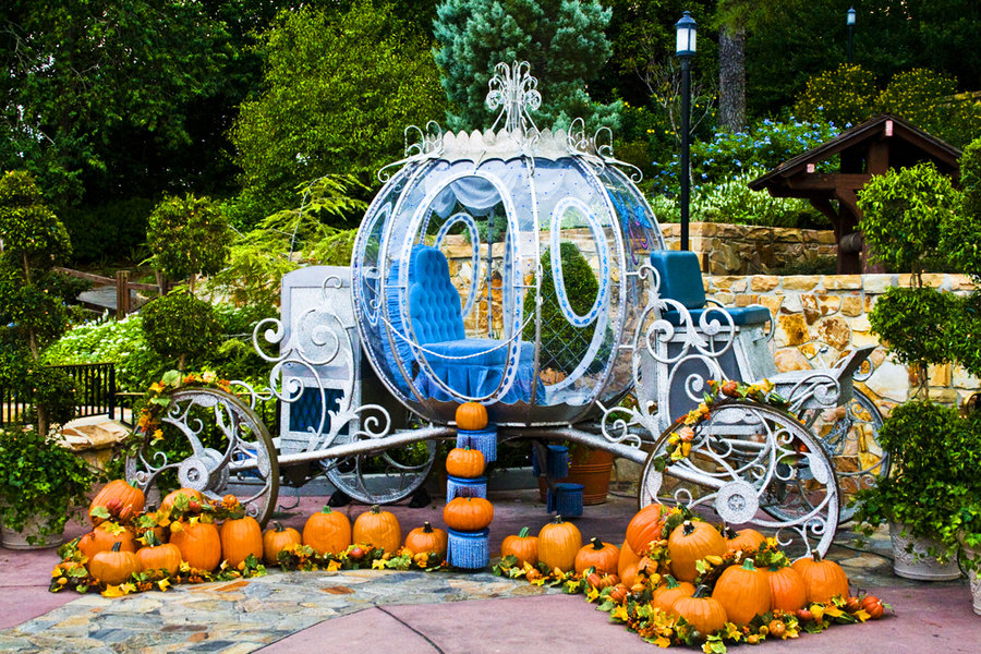 cinderella's pumpkin carriage by mad.