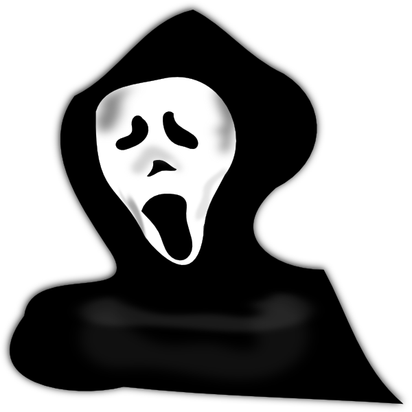 Scary Halloween Free Clipart.