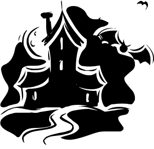 Free Haunted House Clipart.