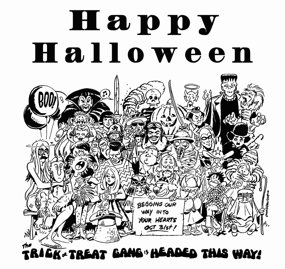 halloween costume clipart black and white - Clipground
