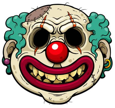 Scary clown clipart » Clipart Station.
