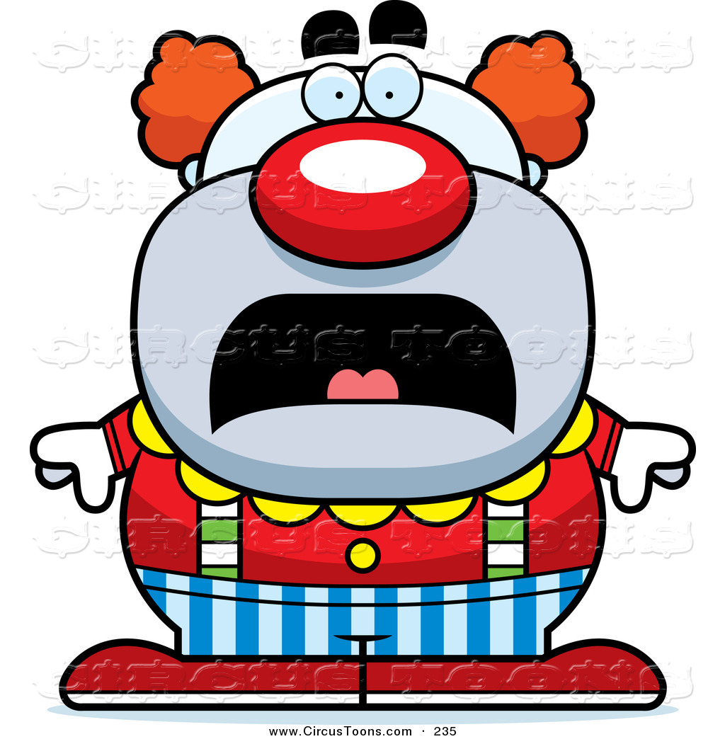 79+ Scary Clown Clipart.
