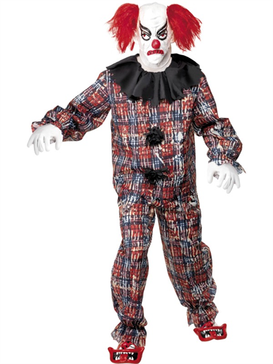 Buy Scary Clown Costume, With Top, Trous #123840.