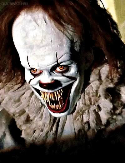 Scary Clown GIFs.