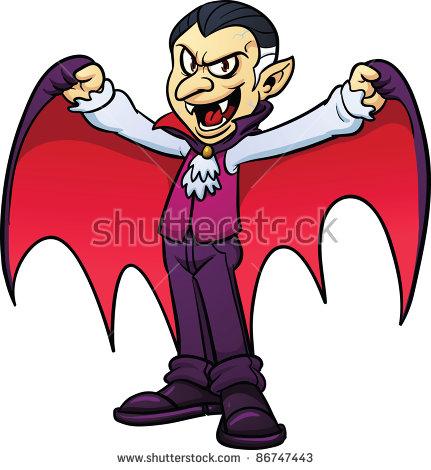 Vampire Cartoon Stock Images, Royalty.