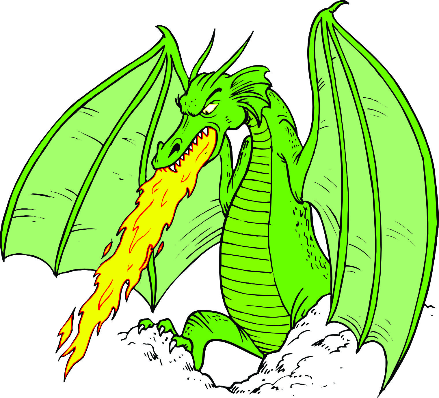 Free Cartoon Dragons, Download Free Clip Art, Free Clip Art.