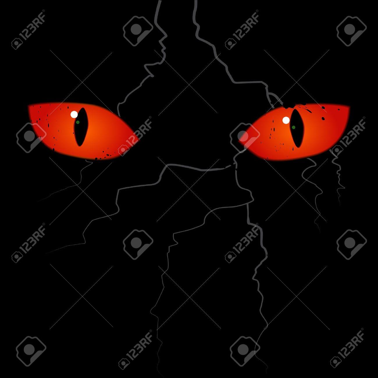 1,642 Scary Eyeball Stock Vector Illustration And Royalty Free.