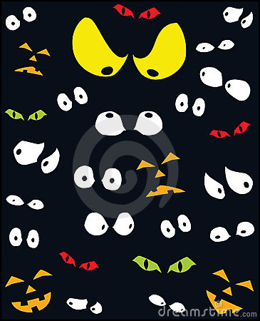 Scary Eyes Clipart.