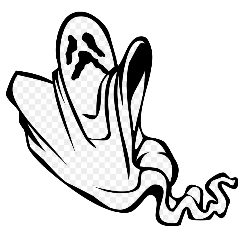 Ghost Clipart Image Scary Clip Art Free Transparent Png.
