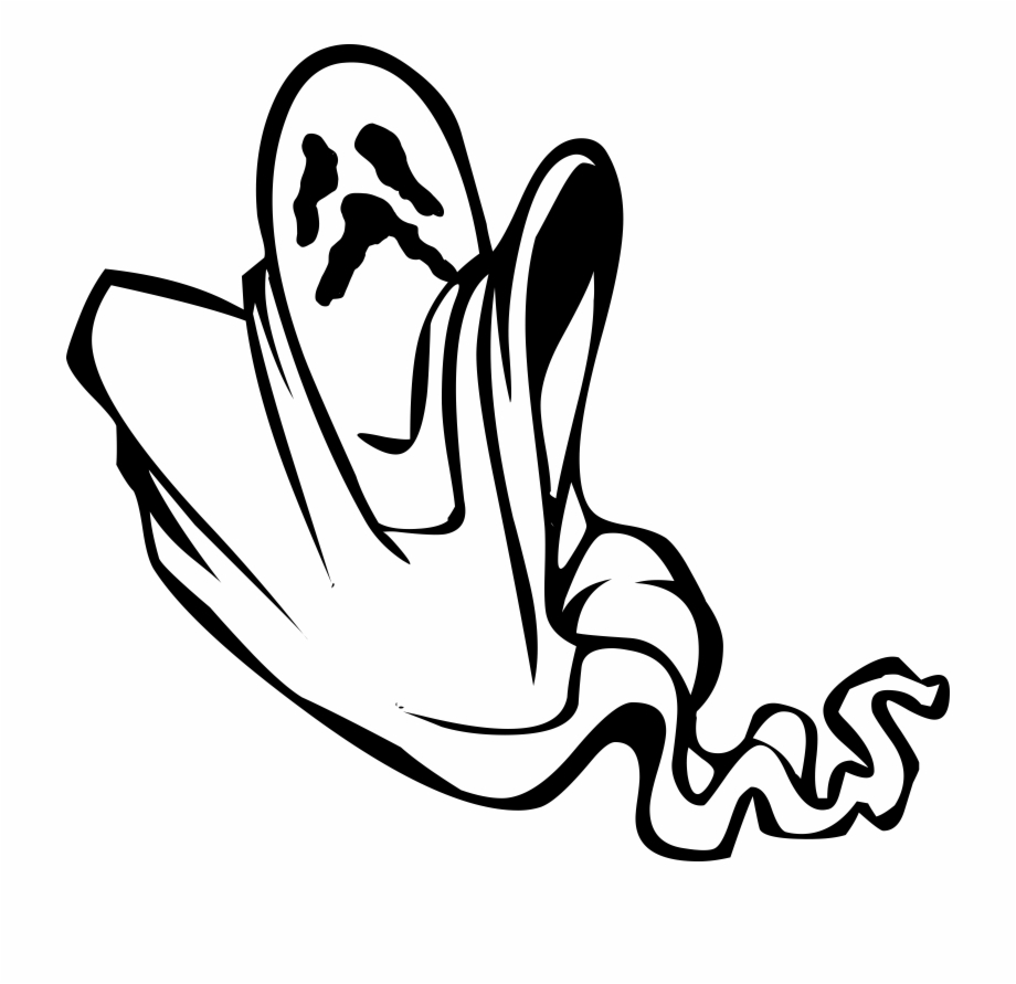 Scary Ghost Clipart Collection.
