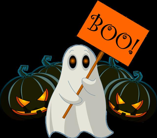 Boo Halloween Scary.