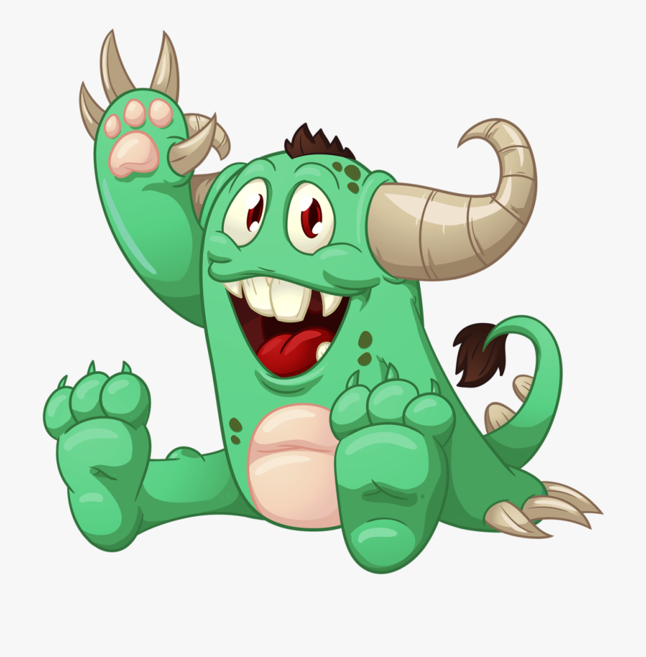 Scary Monster Cartoon Png.