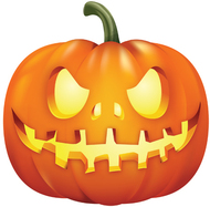 Scary pumpkin clipart 1 » Clipart Station.