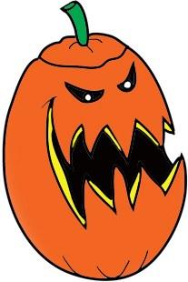 Scary pumpkin clipart 1 » Clipart Portal.