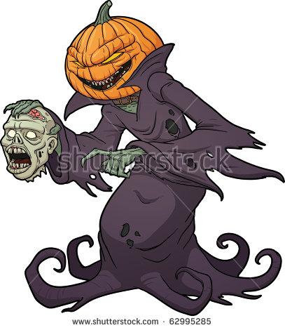 Pumpkin Head Vector Stock Images, Royalty.