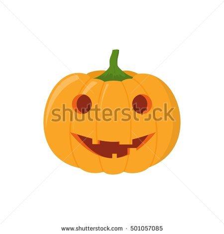 Cartoon Pumpkin Stock Images, Royalty.