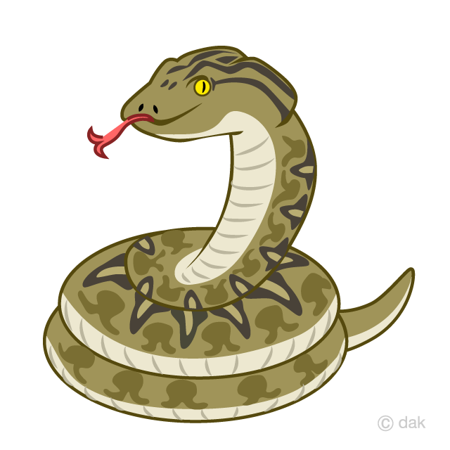 Scary Snake Clipart Free Picture Illustoon.