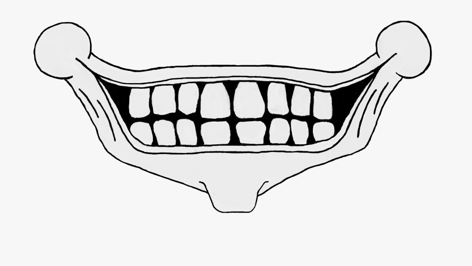 Scary Smile Png.