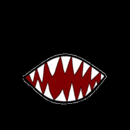 scary teeth clipart 99034.