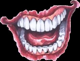 scary teeth clipart 99046.