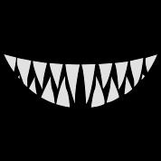 Sharp Teeth Clipart.