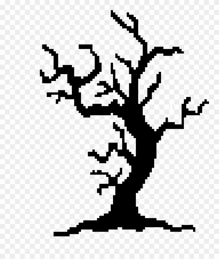 Spooky Trees Clipart , Png Download.