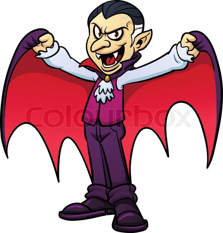 Scary Vampire Clipart.