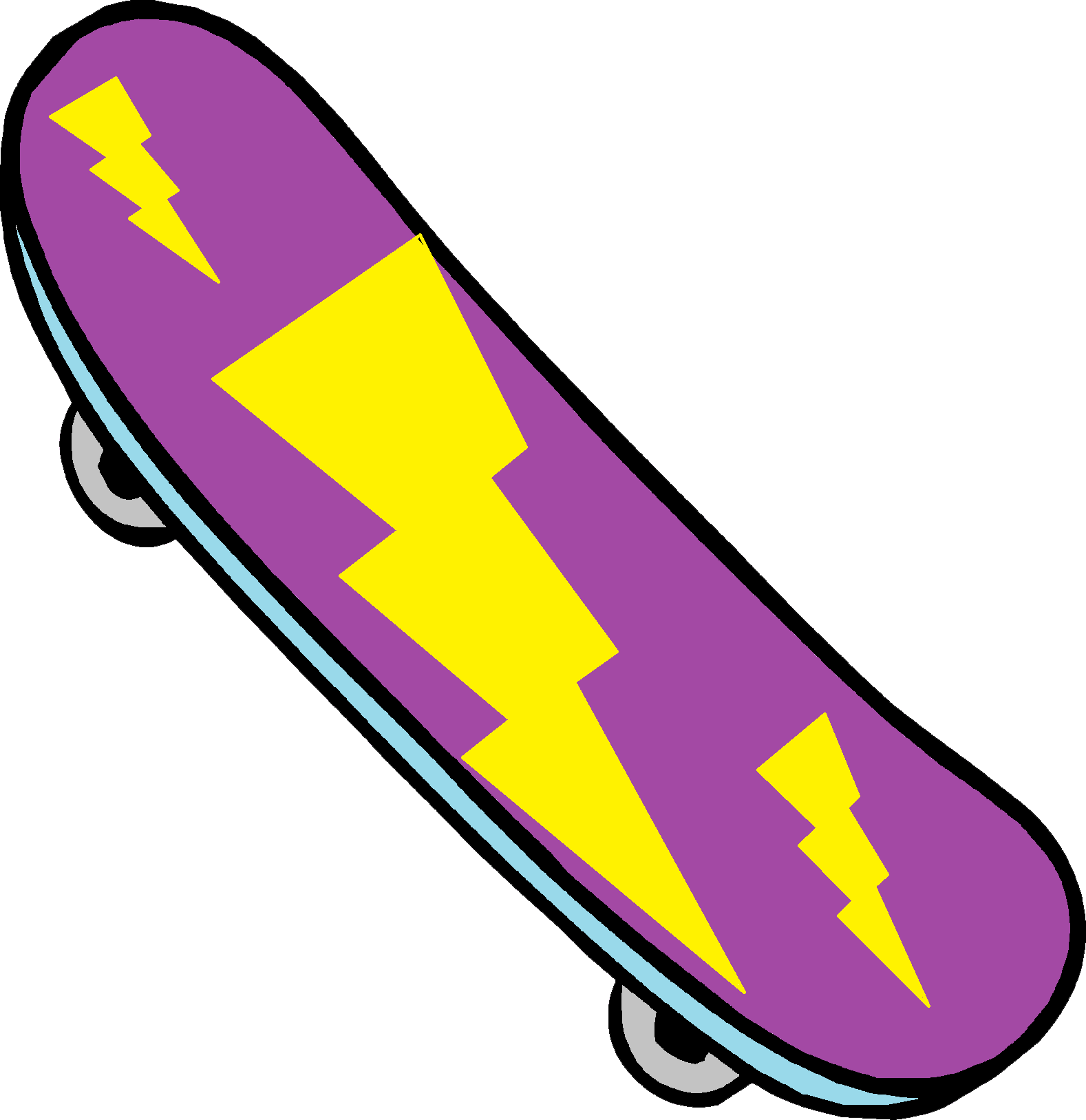 Download Skateboard PNG Clipart.