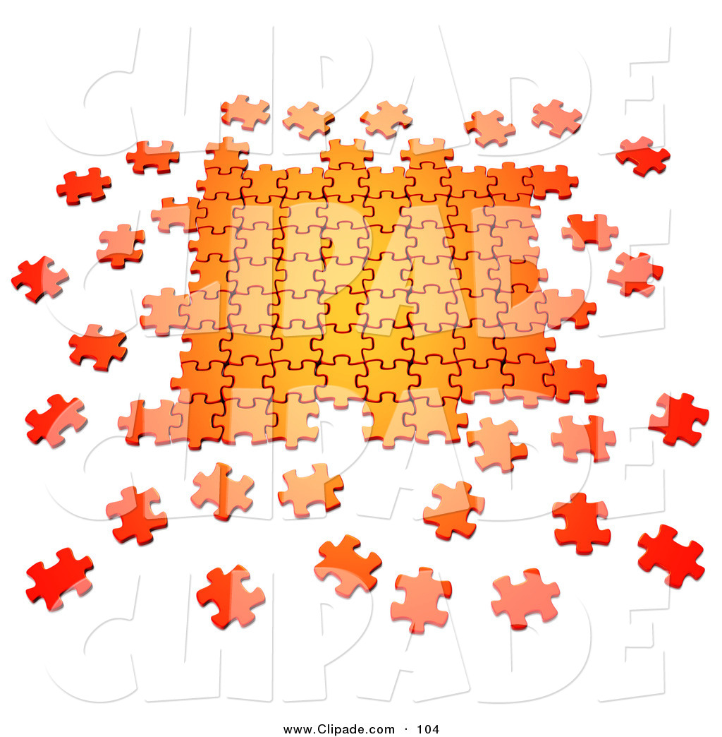 Scattered clipart.